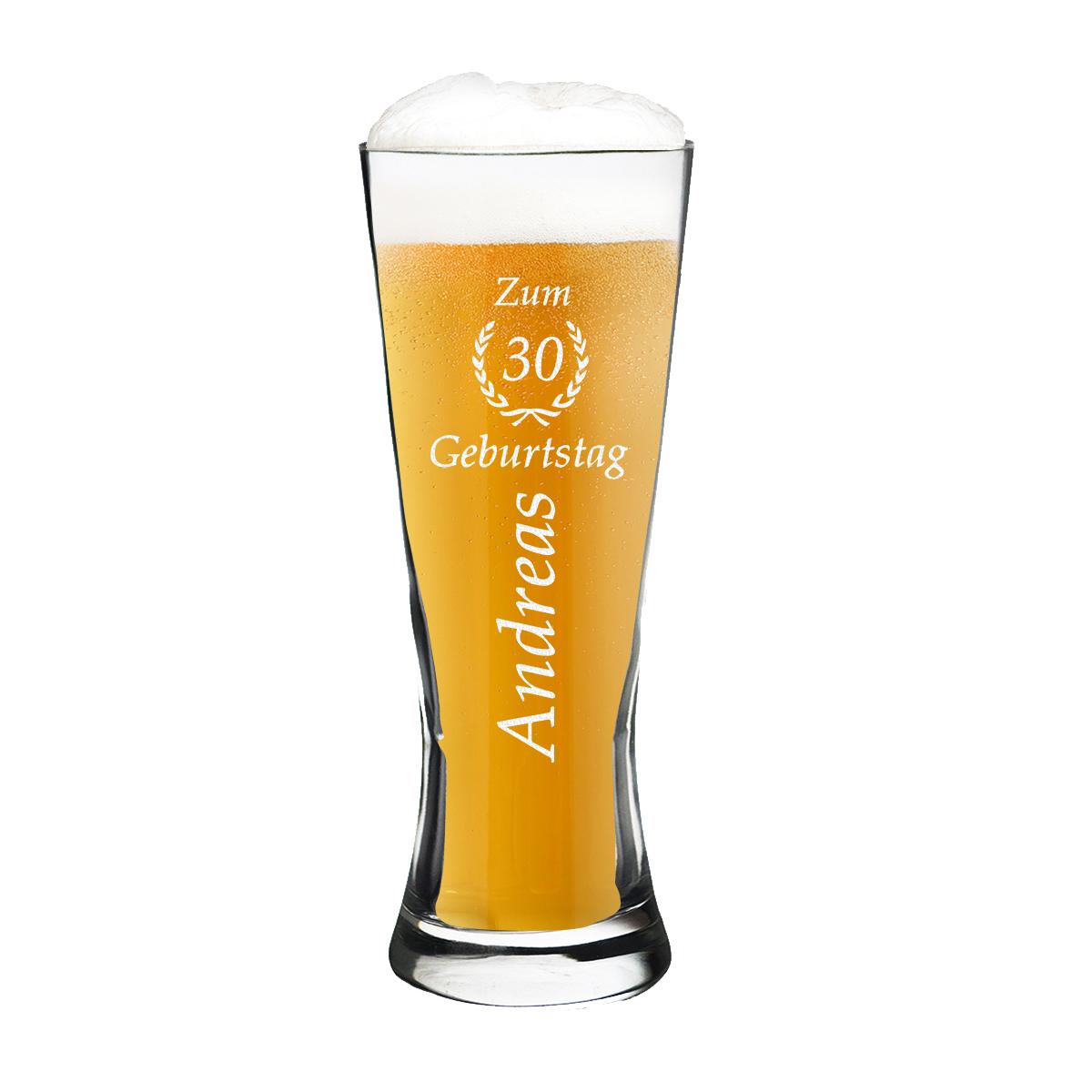 Weizenbierglas Pokal Personalisiert Bierglas Gravur Ebay