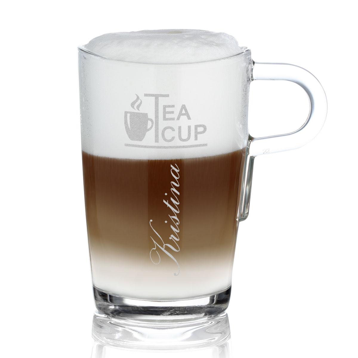 leonardo kaffee latte macchiato becher loop mit gratis wunschgravur ebay. Black Bedroom Furniture Sets. Home Design Ideas