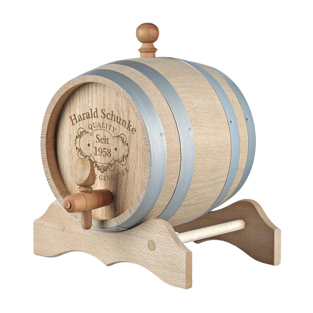 tonneau en bois whiskyfass f ts de ch ne avec gravure qualit whisky ebay. Black Bedroom Furniture Sets. Home Design Ideas